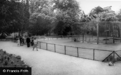 Kirby Misperton, The Lion Enclosure, Flamingo Park Zoo c.1960