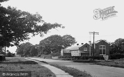 Kirdford, The School c.1950