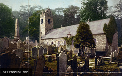 Kirk Braddan, Church c.1900