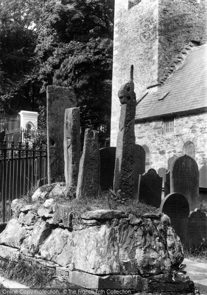Photo of Kirk Braddan, Runic Crosses 1893