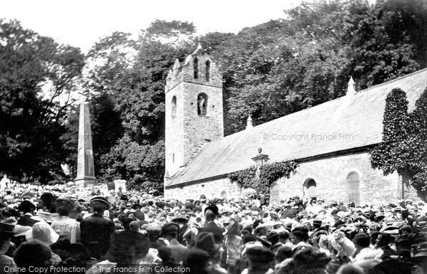 Kirk Braddan, The Old Church 1907