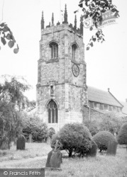 St Andrew's Church c.1960, Kirk Ella