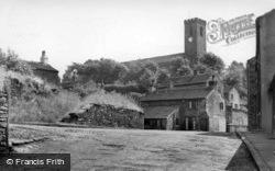 The Parish Church Of All Hallows c.1955, Kirkburton