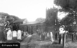 Kirkby In Cleveland, St Augustine's Church c.1955