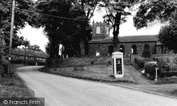 Kirkby In Cleveland, St Augustine's Church c.1960