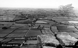 Kirkby In Cleveland, View From North Wainstones c.1955
