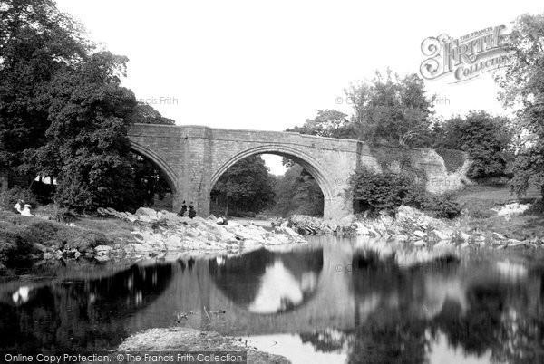 Kirkby Lonsdale, Devils Bridge 1899