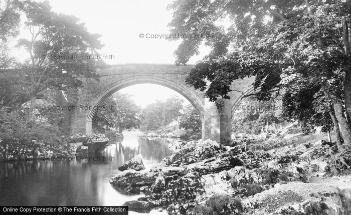 Kirkby Lonsdale, Devils Bridge 1899.  (Neg. 42875)  � Copyright The Francis Frith Collection 2008. http://www.francisfrith.com
