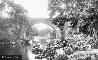 Kirkby Lonsdale, Devil's Bridge 1899
