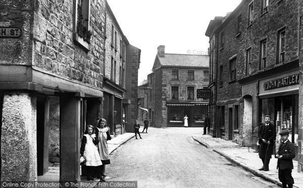 Kirkby Lonsdale, Main Street 1908
