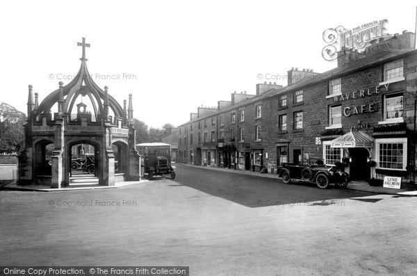 Kirkby Lonsdale, Market Place 1926