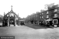 Market Place 1926, Kirkby Lonsdale