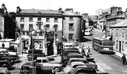 Market Place 1957, Kirkby Lonsdale