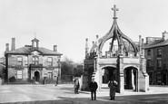 Kirkby Lonsdale, Market Square 1908