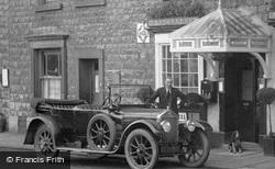 Wolseley Car Outside The Waverley Café 1926, Kirkby Lonsdale