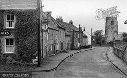 Kirkby Malzeard, Church Lane c.1955