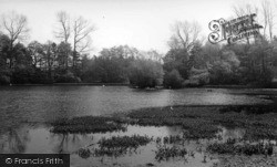 Kirkby Malzeard, The Lake c.1955