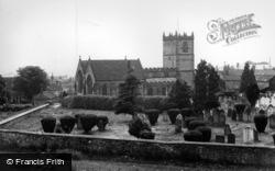 Kirkby Moorside, All Saints Church c.1950