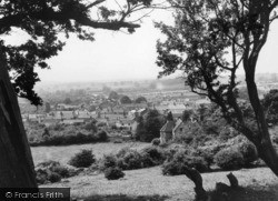 Kirkby Moorside, View From Vivers Hill c.1950