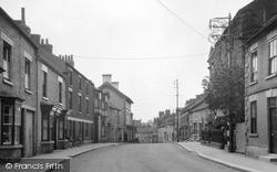 Kirkby Moorside, West End 1951