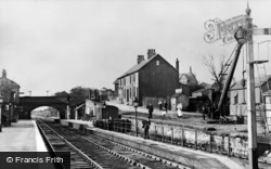 Kirkby, Station c.1910