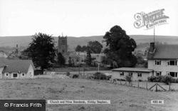Church And Nine Standards c.1965, Kirkby Stephen