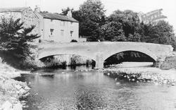 Frank's Bridge And The River Eden c.1965, Kirkby Stephen