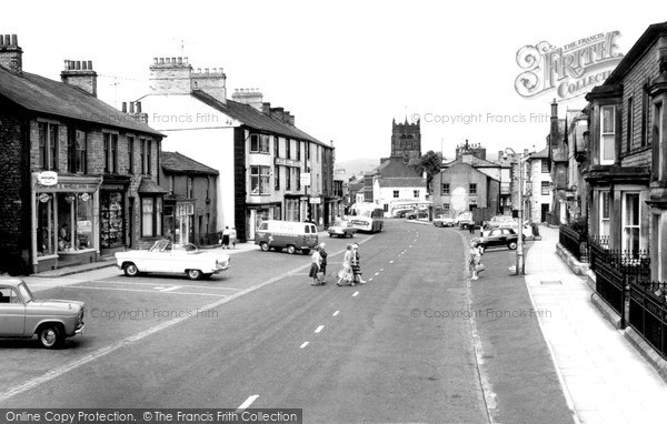 Kirkby Stephen, Market Street c1960.  (Neg. K148015)  © Copyright The Francis Frith Collection 2008. http://www.francisfrith.com