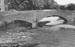River Eden, Frank's Bridge c.1960, Kirkby Stephen