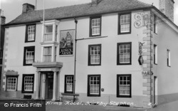 The King's Arms Hotel c.1950, Kirkby Stephen