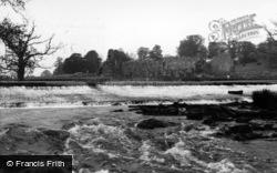 Abbey And River Derwent c.1960, Kirkham