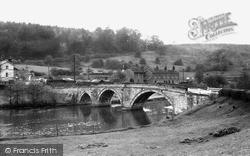 Kirkham, Bridge, River Derwent c.1960