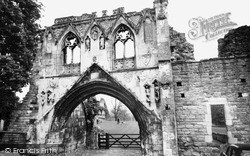 Kirkham, The Abbey c.1960