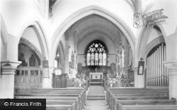 Kirkheaton, Parish Church, Interior c.1950