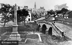 Kirkintilloch, Luggie Bridge c.1890
