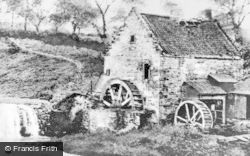 Kirkintilloch, Old Mill At Waterside c.1900