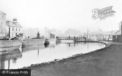 Kirkintilloch, The Forth And Clyde Canal, Hillhead 1910