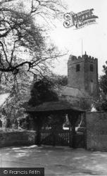Lychgate And Church c.1960, Kirklington