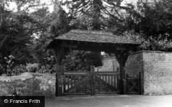 The Lychgate c.1960, Kirklington