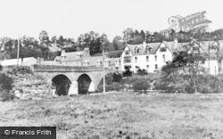Kirkmichael, Bridge And Village c.1950