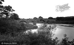Kirkoswald, Eden Bridge c.1955