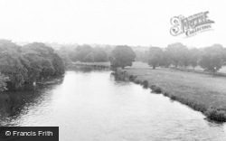 Kirkoswald, From Eden Bridge c.1955