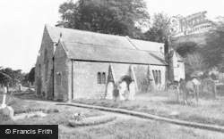 Kirkoswald, St Oswald's Church c.1965