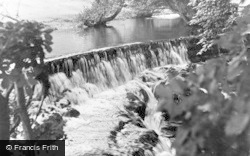 Kirkoswald, The Raven Waterfall c.1955