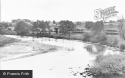 Kirkoswald, The River c.1960