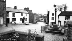 Kirkoswald, The Village And Memorial Cross c.1965