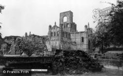 Kirkstall Abbey, c.1955