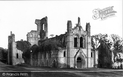 Kirkstall Abbey, From The North West 1888