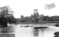 Kirkstall Abbey, From The River 1891