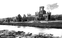 Kirkstall Abbey, From The Weir 1891